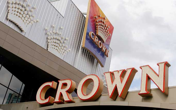 The Crown Casino Melbourne