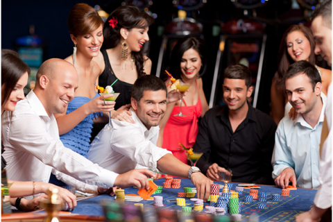 High Rollers Playing At Casino