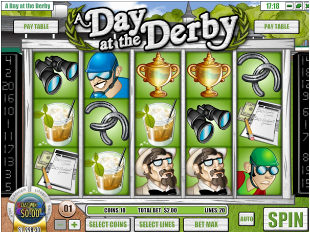 A Day at the Derby pokies