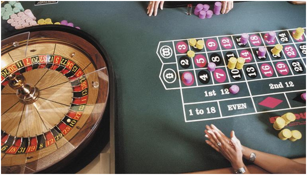 Roulette tables without limits