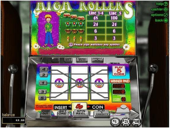 High roller pokies