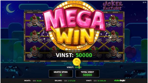 Mega win pokies