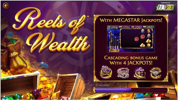 Reels of Wealth jackpot