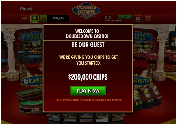 Chips at Double Down Casino