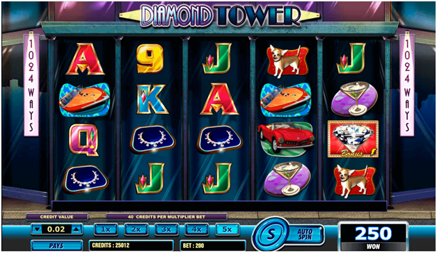 diamond tower