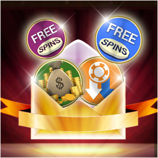 Complimentary rewards at online casinos