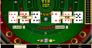 Guide to High Limit Baccarat