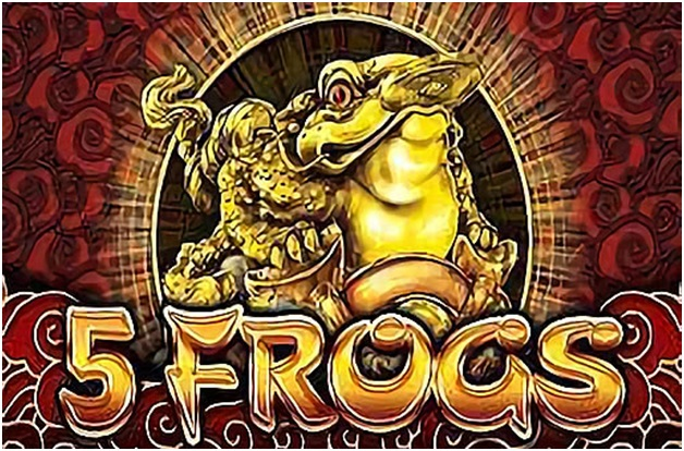 Guide to win 5 frogs pokies game from Aristocrat
