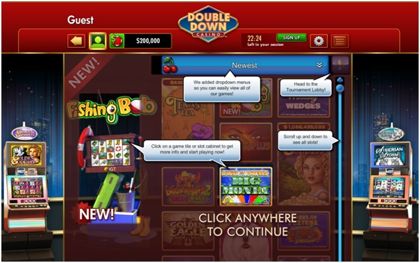How to play at Double Down Casino
