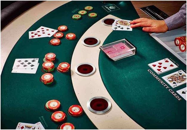 Rules of the game to play Mississippi stud poker
