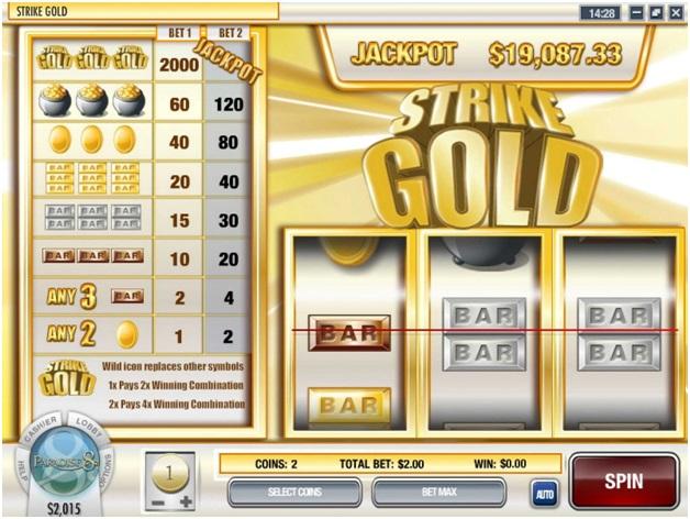 Strike gold pokies