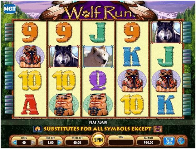 Wolf Run pokies game